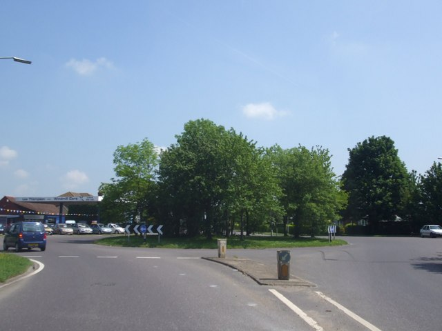A52, Abbey Lane Roundabout