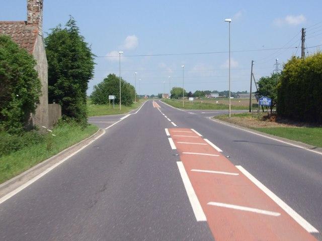 A52, Blackjack Road junction