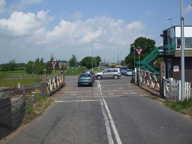 Hubberts Bridge Level Crossing