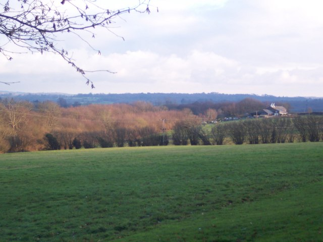 View from Owl House Access road