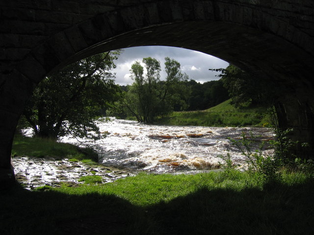 A glimpse of the Wharfe