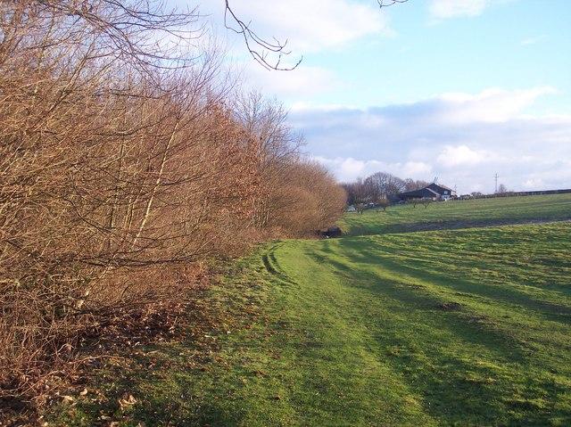 Footpath to Barnfield Oast House