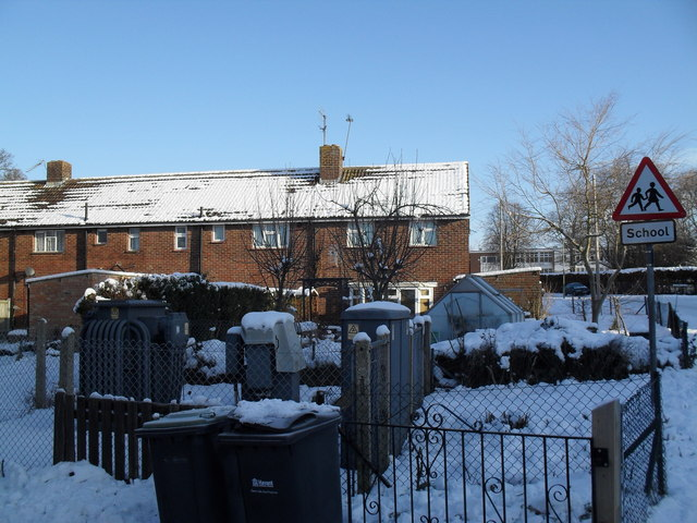 Electricity sub-station in High Lawn Way
