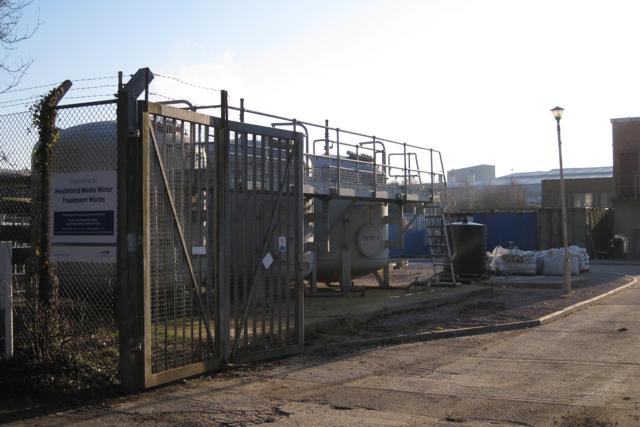 Entrance, Heathfield Waste Water Treatment Works