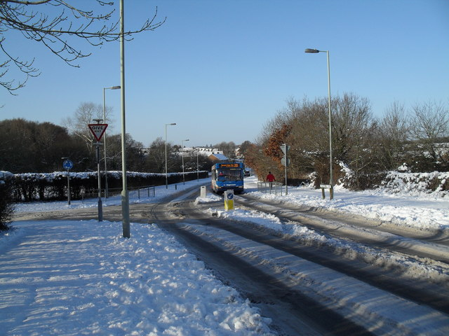 Bus service getting back to normal after heavy snow