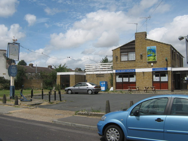 The Blue Anchor Public house, Swanscombe