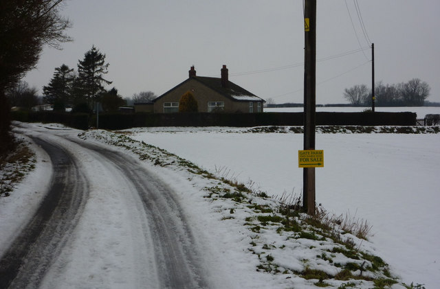 Flowton Road towards junction