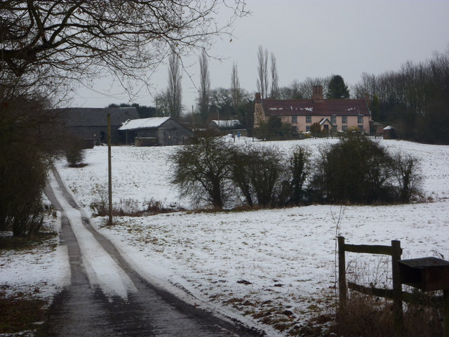 Red House Farm in winter