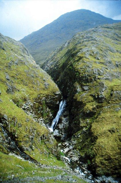 Waterfall on the Allt  Grannda