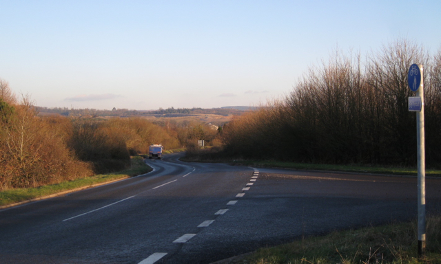 Top of Clay Lane B3193