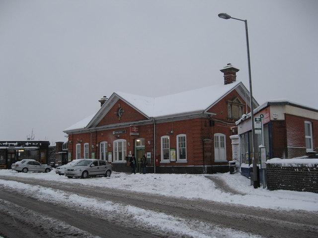 Horley Railway Station, Surrey