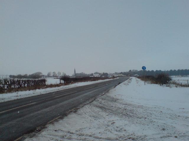 East Heslerton in winter