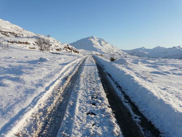 Heading East to Liathach