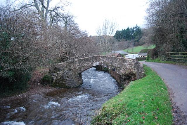 Packhorse Bridge, West Luccombe