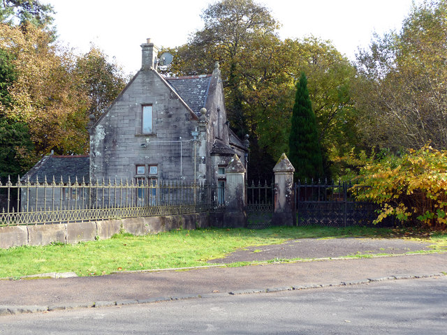 Lodge and gateway to Cameron House