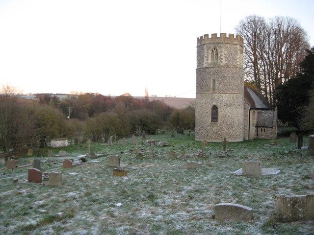Great Shefford: Graveyard of St Mary's Church