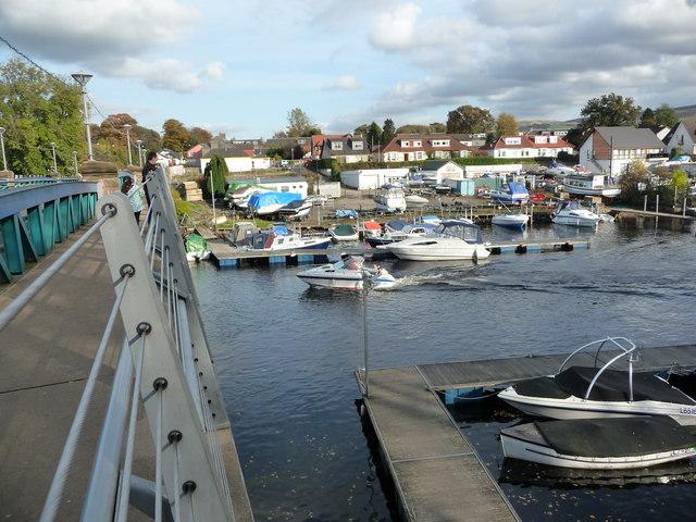 River Leven at Balloch Bridge