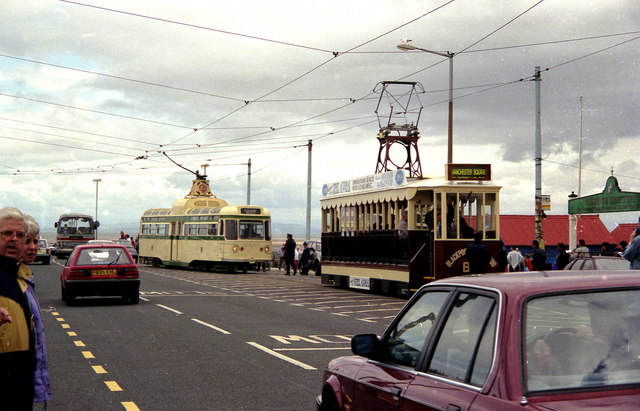Trams at Fleetwood Ferry