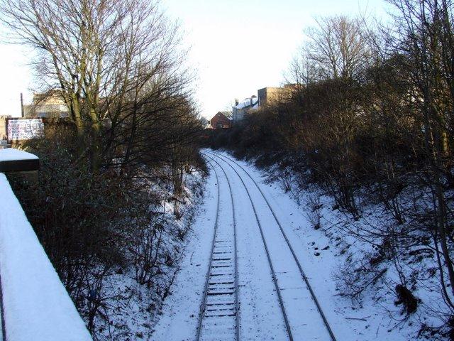 Railway line at Pollokshaws Road