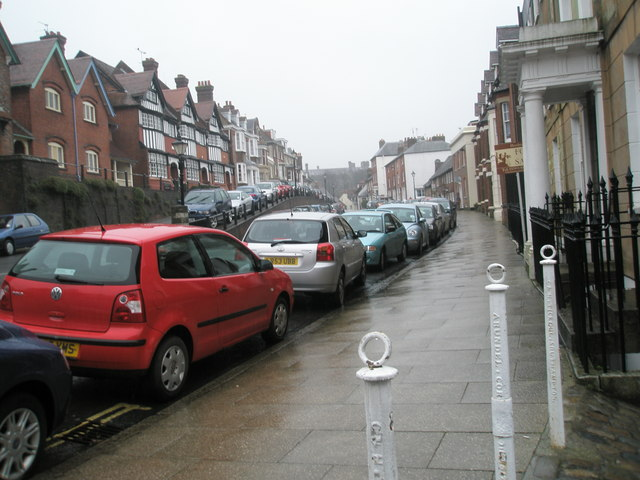 A wet and windy Maltravers Street