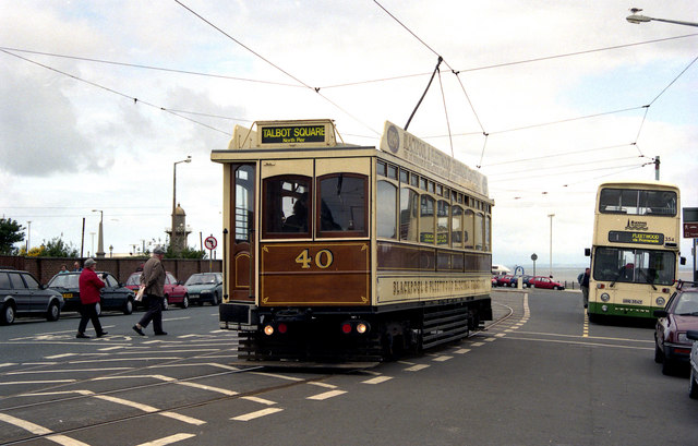 Tram at Fleetwood Ferry
