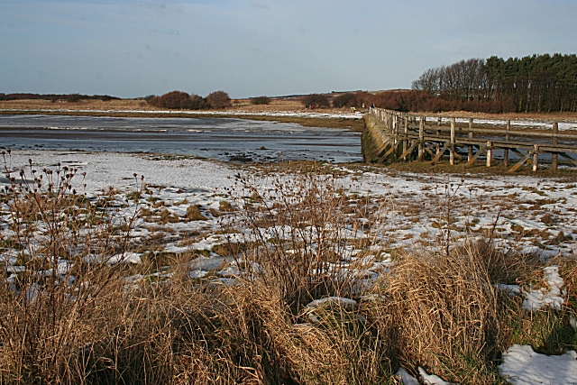 Footbridge at Aberlady