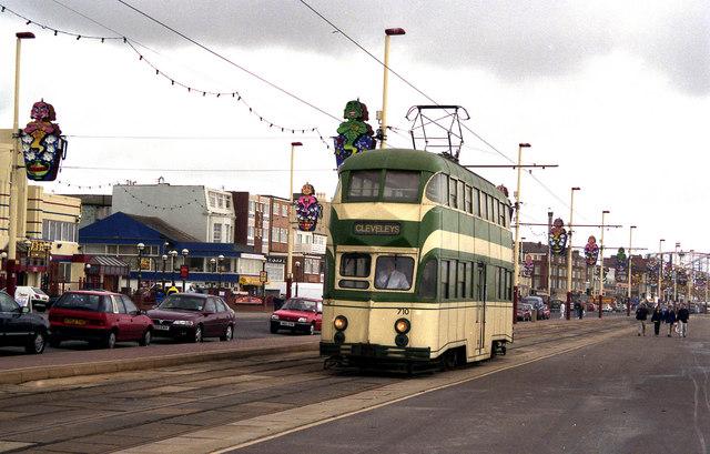 Blackpool:  South Promenade