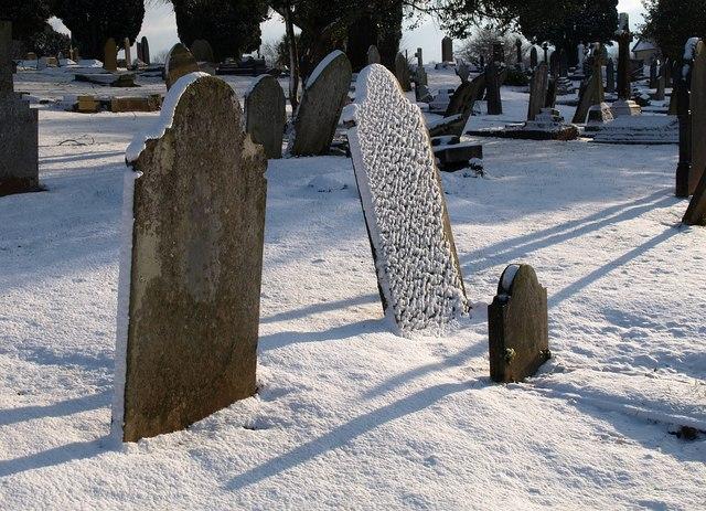 Gravestones, Torquay Cemetery