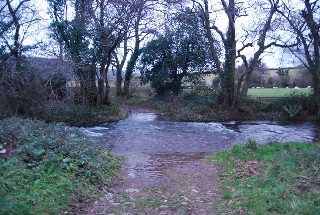 Ford across Horner Water, West Luccombe