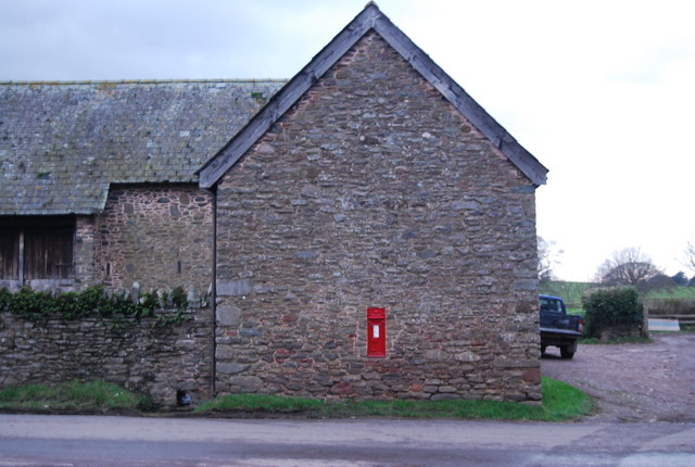 Postbox, West Luccombe Farm, West Luccombe
