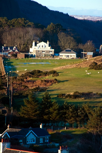 Carradale Hotel and Carradale Golf Club Clubhouse