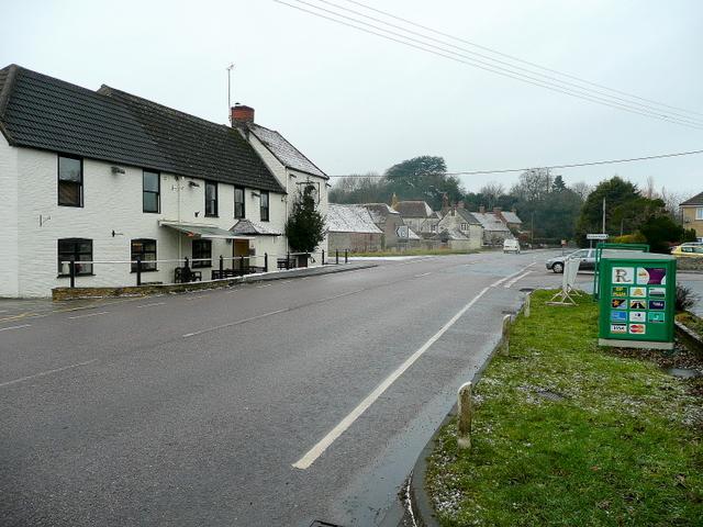 Longbridge Deverill crossroads