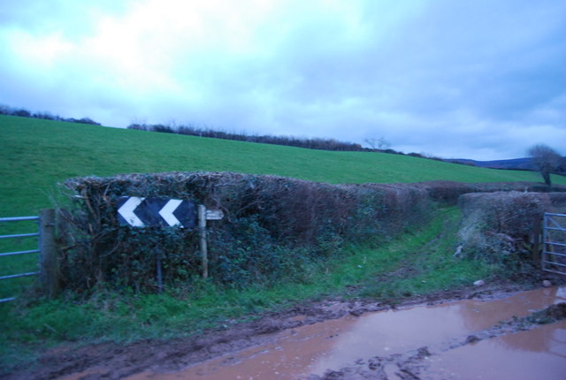 Watery Lane off the A39
