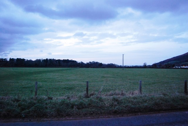 Field north of the A39