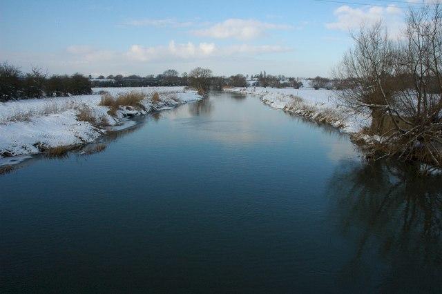 River Avon from Eckington Bridge