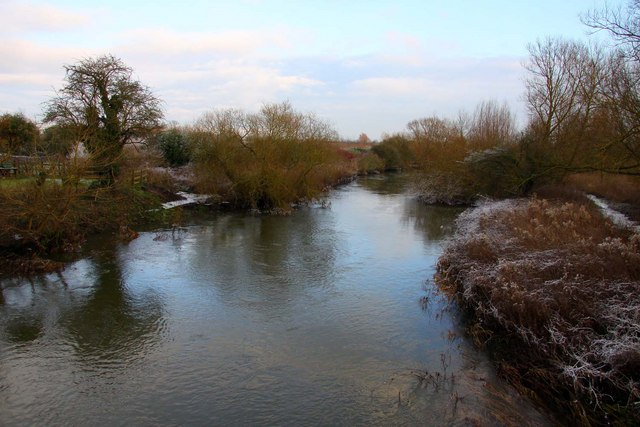 The River Thame at Chiselhampton