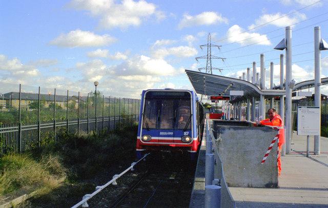 Docklands Light Railway, Beckton