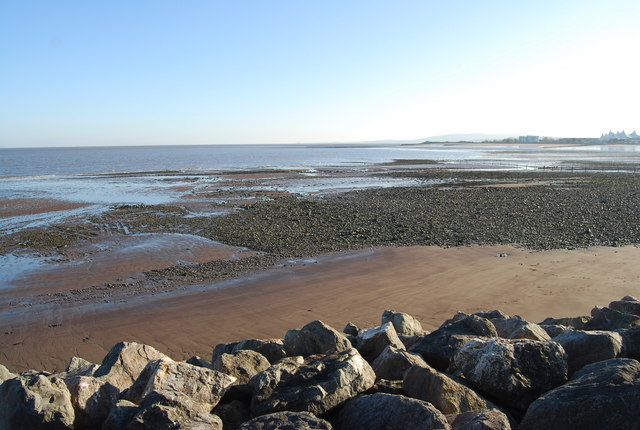 Shingle on the beach, Minehead