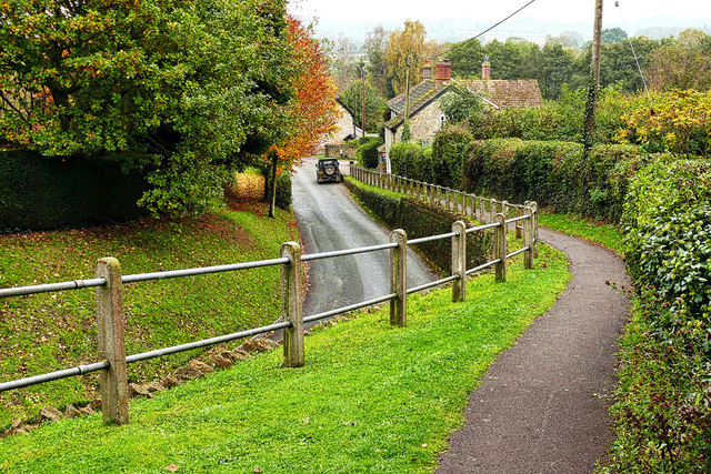 Dowlish Wake Near The Church