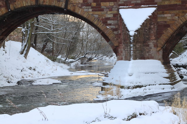 Bridge over the River Tyne at East Linton
