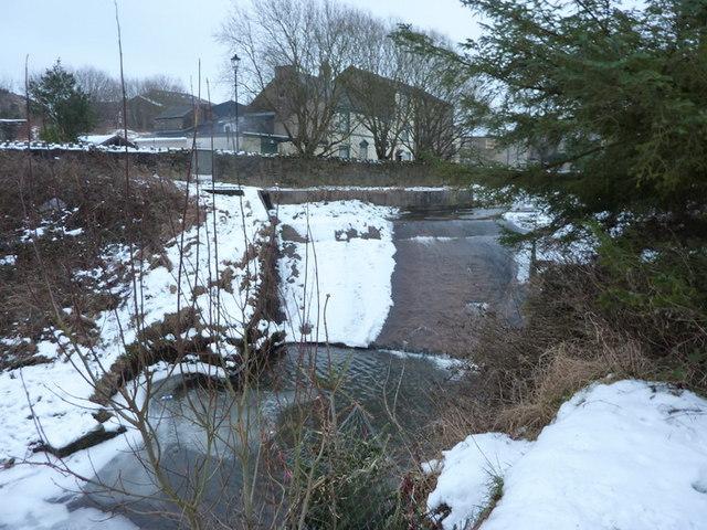 Weir on Tinker Brook
