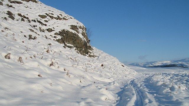 Munerigie to Loch Oich track