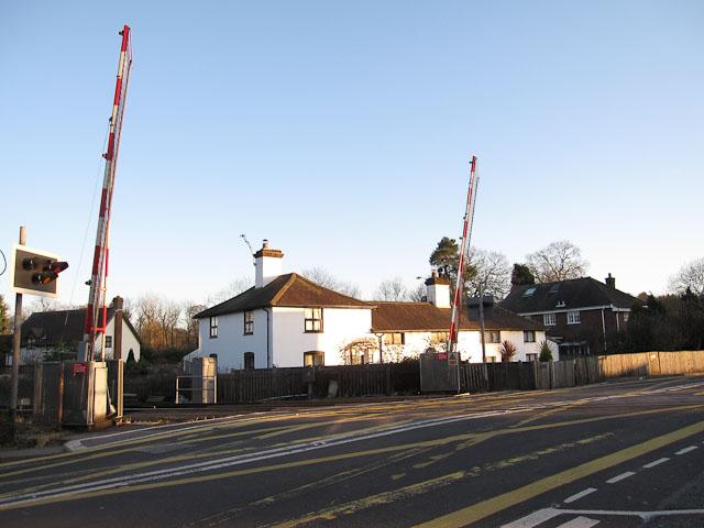 Level crossing, Brockenhurst