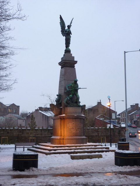 Oswaldtwistle, War Memorial