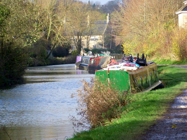 Everything but the kitchen sink, Kennet and Avon Canal