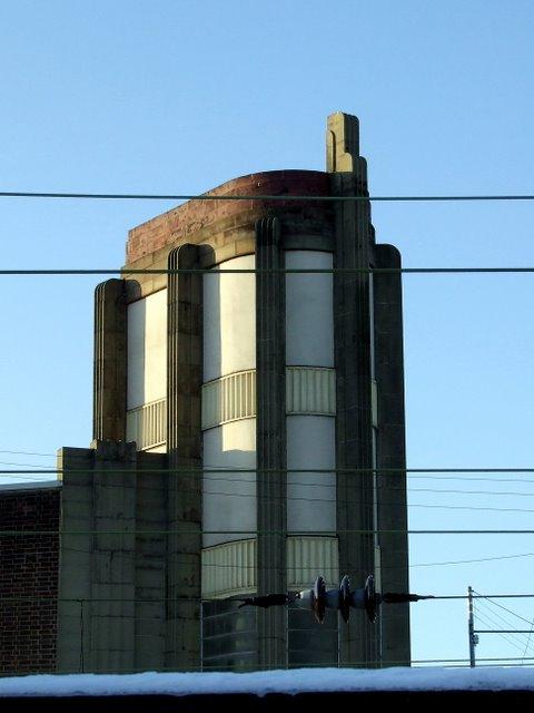 Art Deco tower