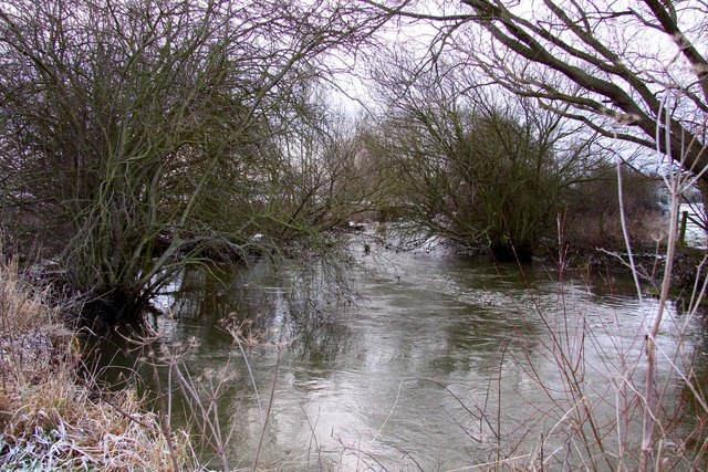 The River Thame at Brookhampton