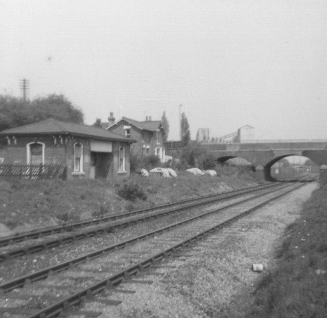 Abbey Street Station, Nuneaton (site of)