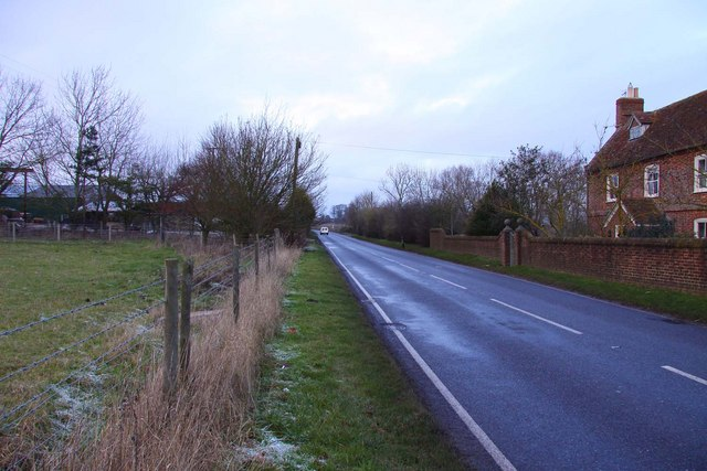 The B480 at Chiselhampton