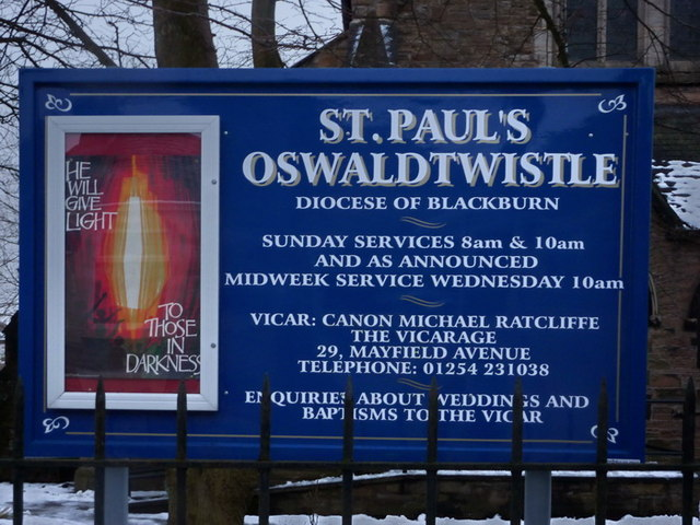 St Paul's Church, Oswaldtwistle